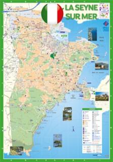 Mappa di La Seyne
