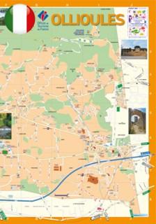 Mappa di Ollioules
