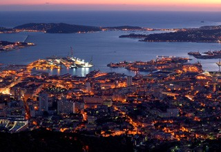 Toulon and the harbour