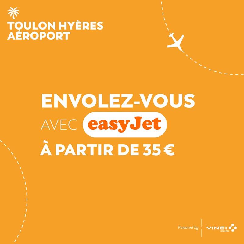 Cet été évadez-vous depuis l'aéroport de Toulon-Hyères