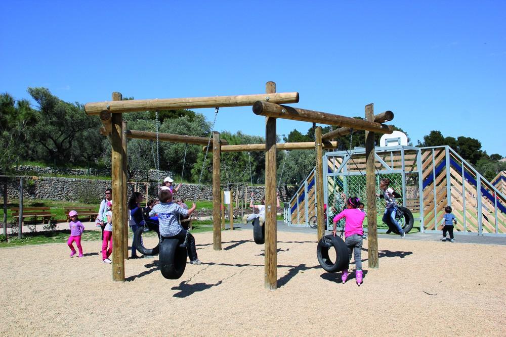 Jeux parc de le Castellane, Ollioules