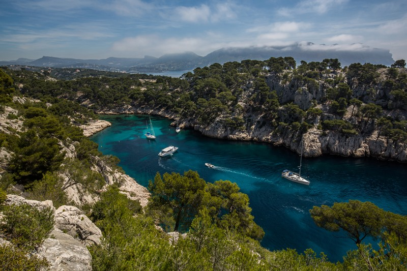 Les calanques de Cassis Parc national