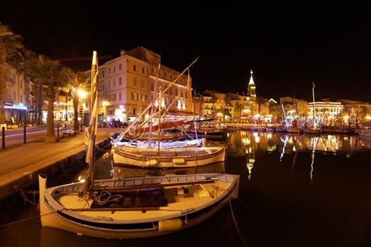 Port de Sanary pointus feu d'artifice marché Marché artisanal nocturne