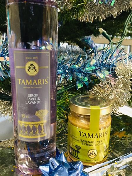 Produits de l'épicerie fine Tamaris de La Seyne sur Mer