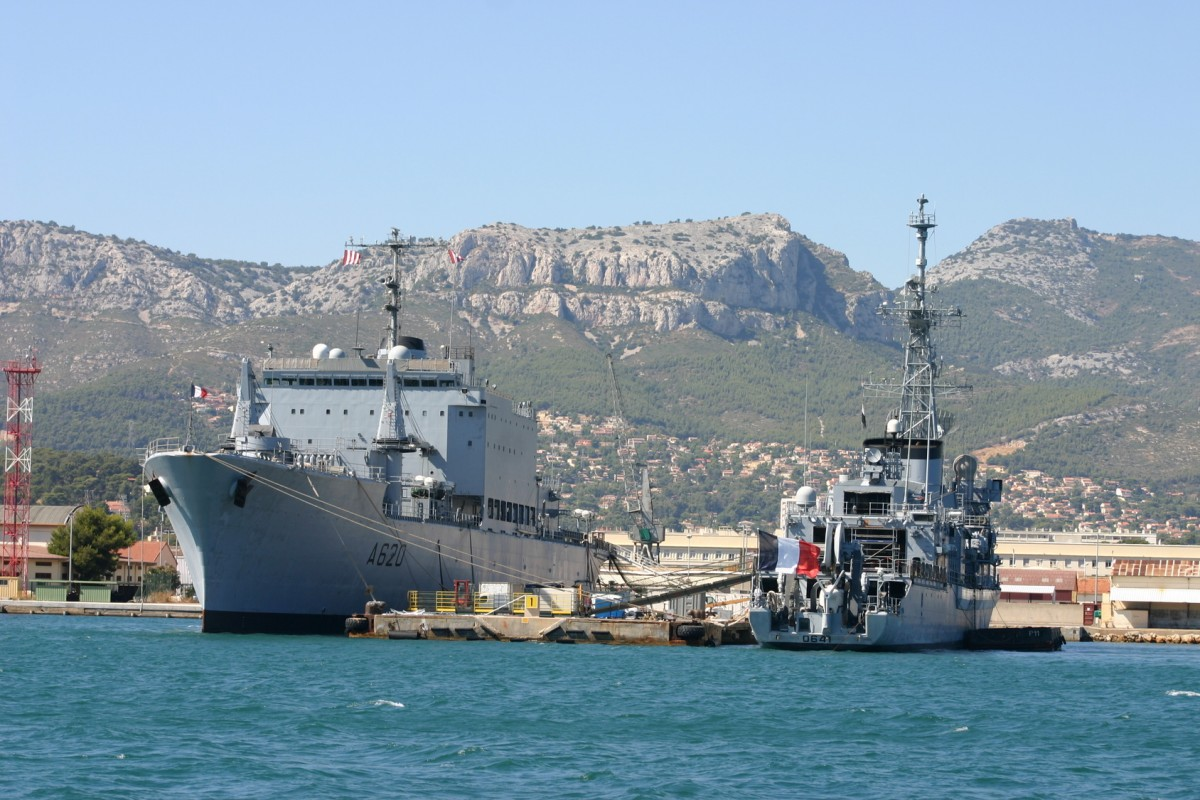 Arsenal militaire rade de Toulon