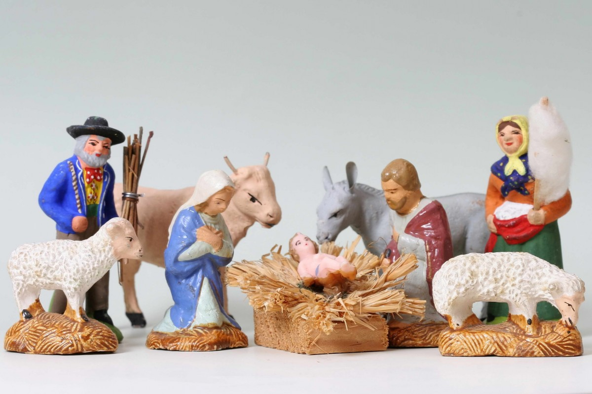Santons nativité - fêtes de noël office de tourisme ouest var
