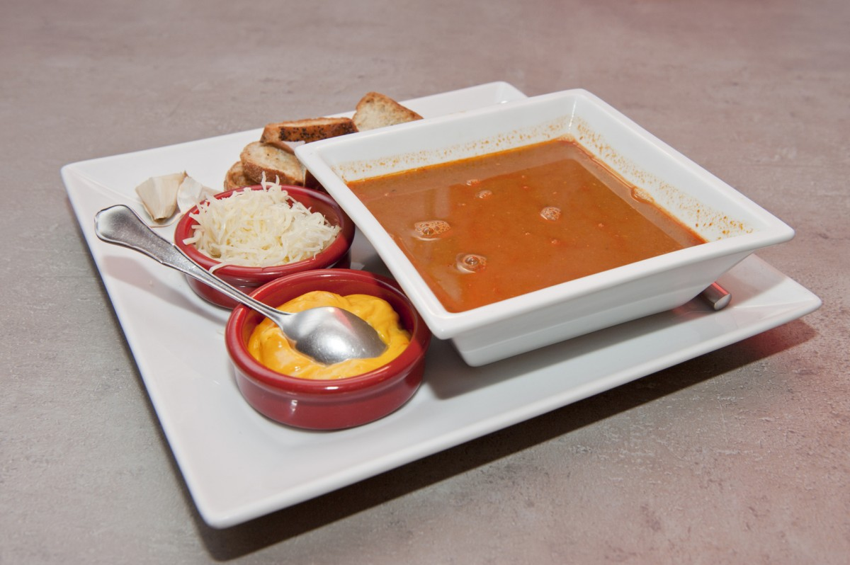 Fish soup and rouille