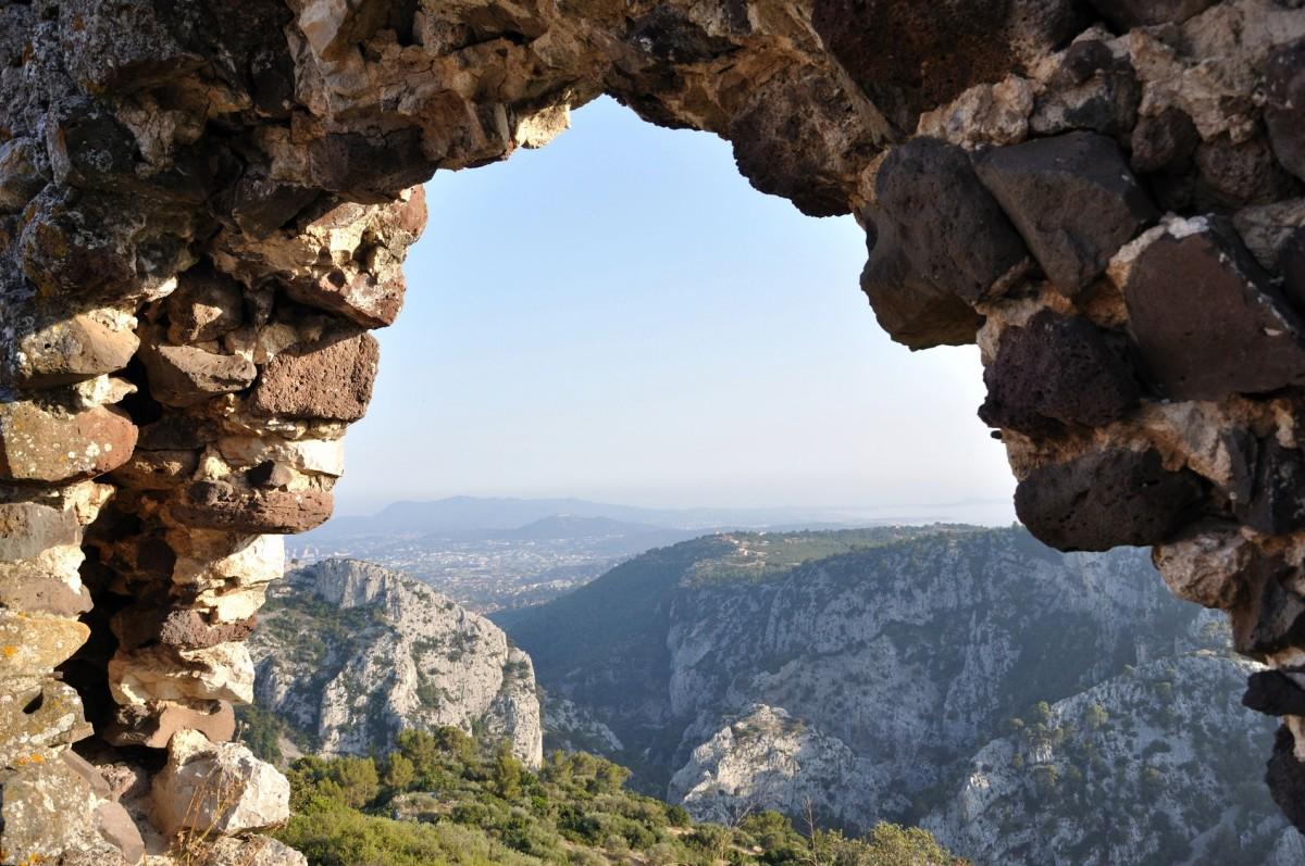 Vue panoramique depuis le Viel Evenos