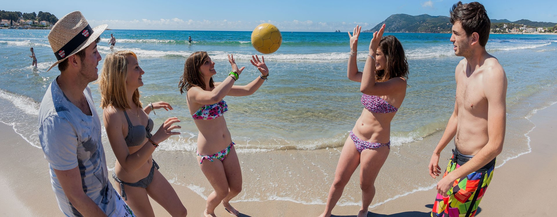 Beach volley aux Sablettes