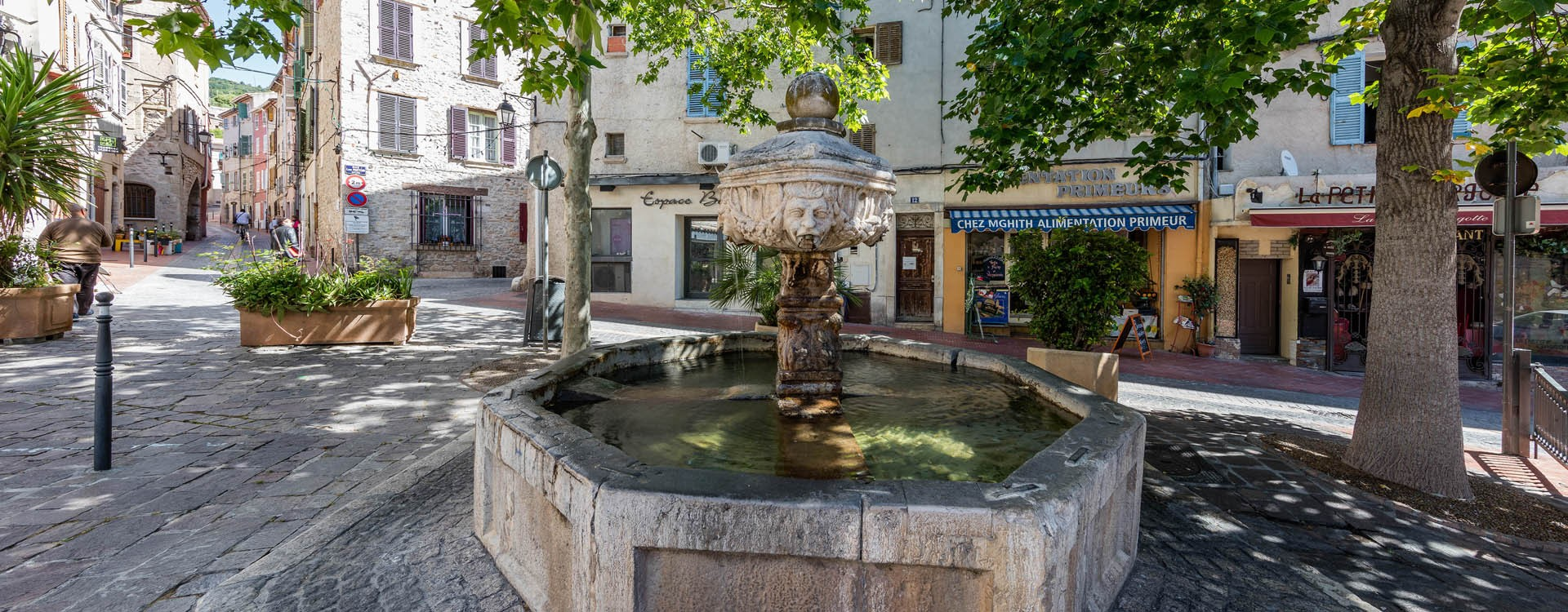 Fontaine Place Cl�ment Ollioules