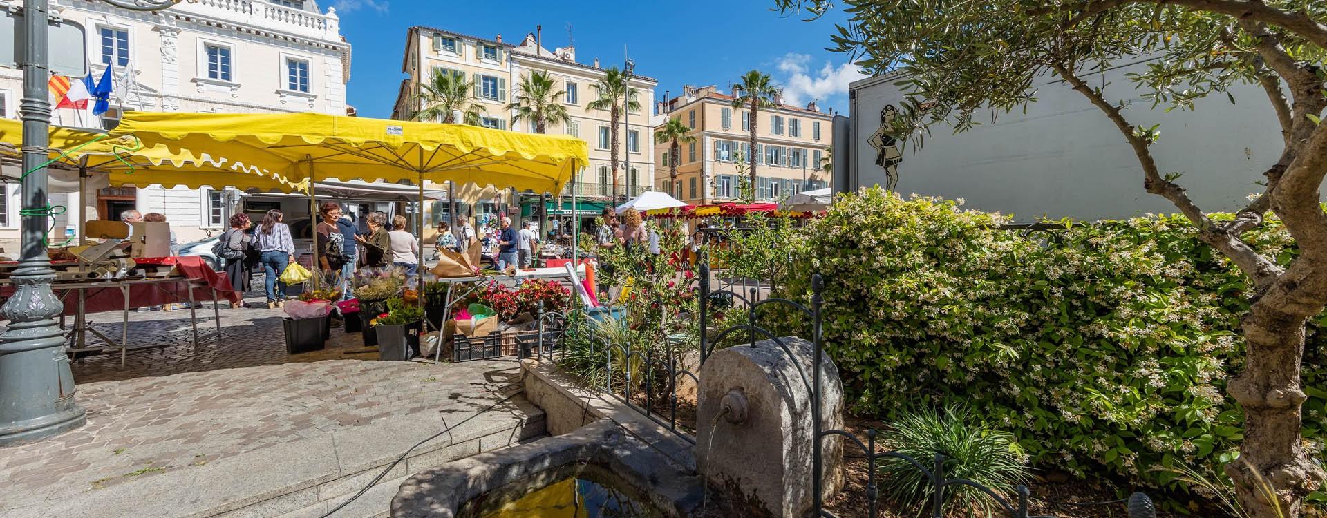 Place Jean Jaurès Ollioules