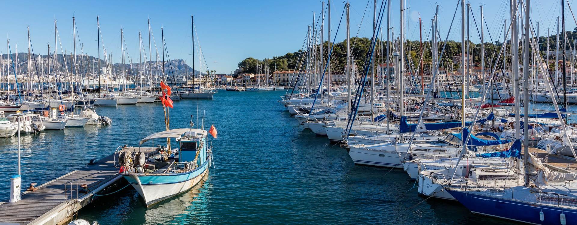 Saint-Mandrier harbour
