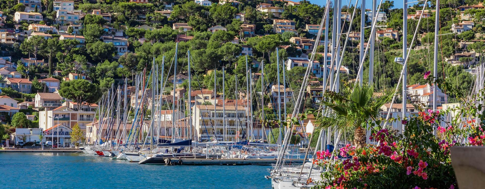Port de Saint Mandrier sur mer