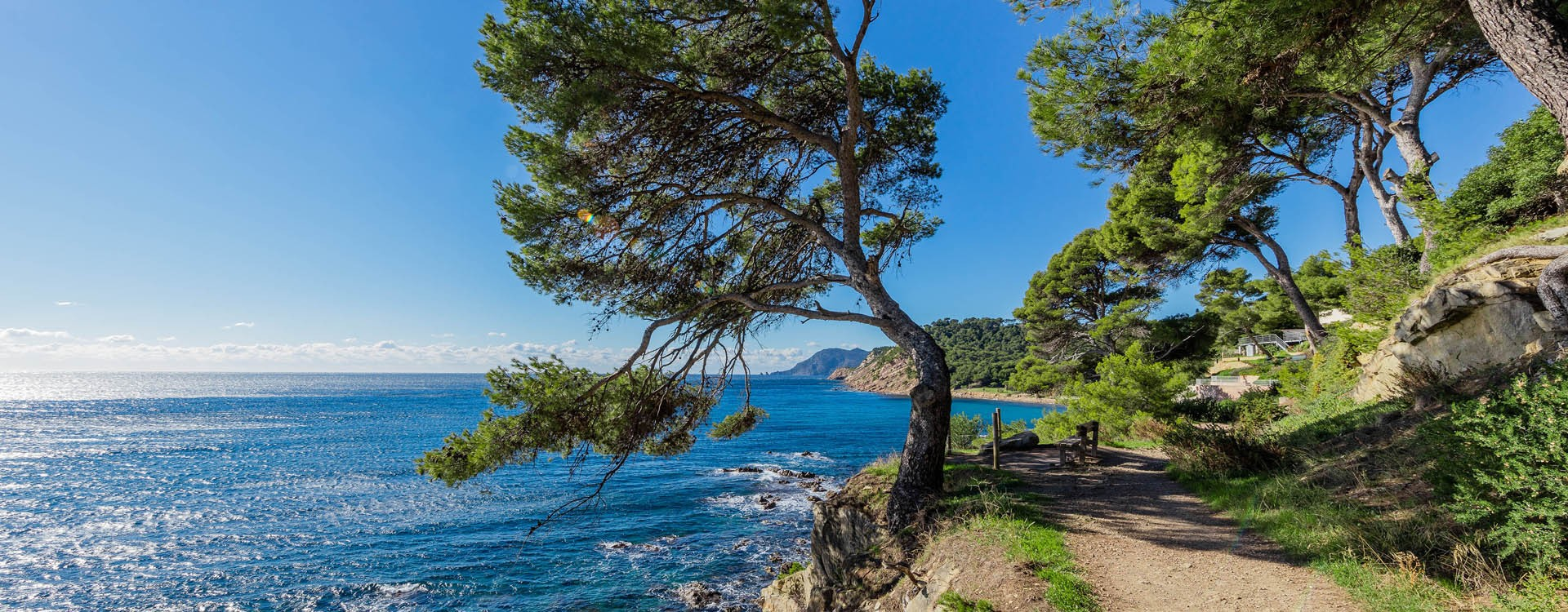 Sentier du littoral Saint Mandrier sur mer