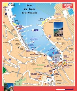 Centre-ville de Saint-Mandrier sur Mer