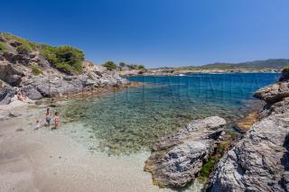 Cove of Les Embiez island, Six Fours les Plages