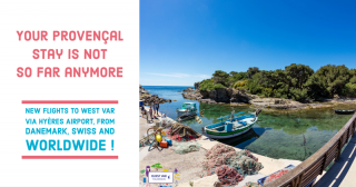 New flights to Hyères Toulon airport