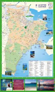 Plan détaillé de La Seyne sur Mer