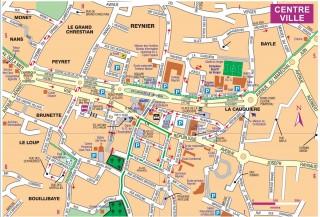 Sanary Plan De La Ville