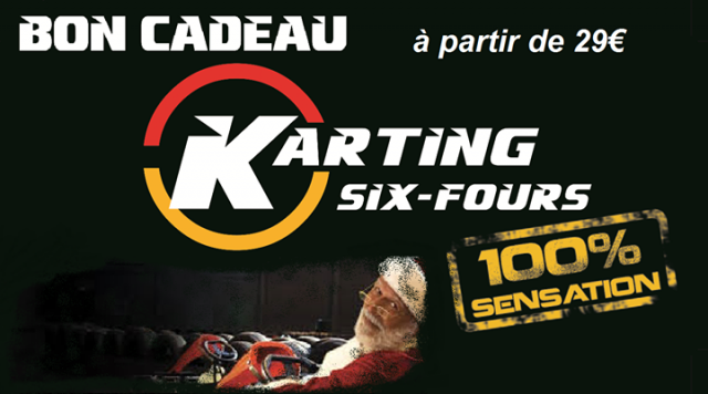 Bon Cadeau Karting de Six Fours