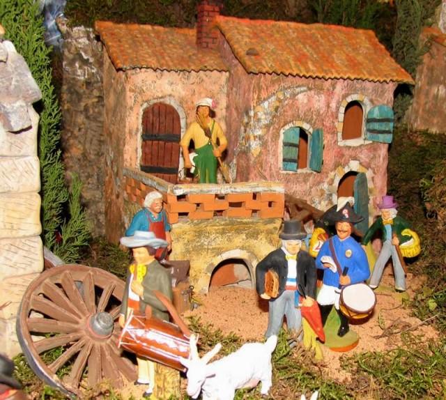 Les santons de Provence Foire aux santons Ollioules Six Fours Biennale des Santons