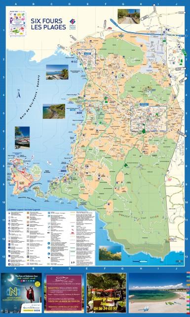 six fours les plages carte Plan de Six Fours les Plages, carte de Six Fours
