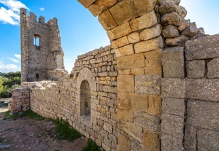 Vestiges du Chateau f�odal Ollioules