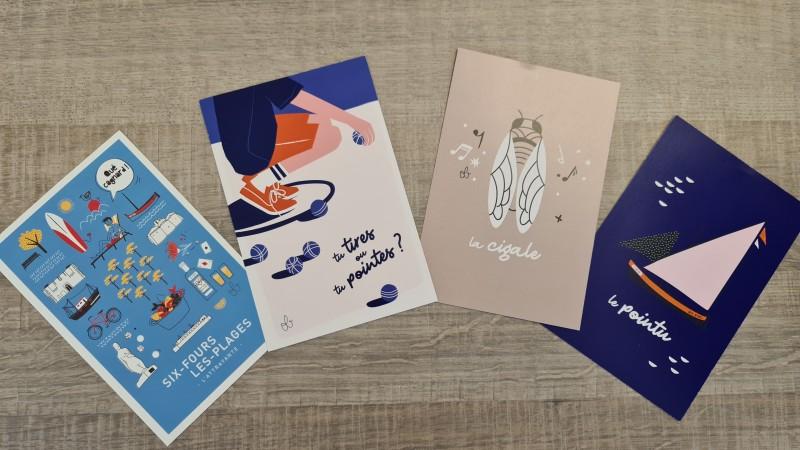 Cartes postales Odile Bertrand