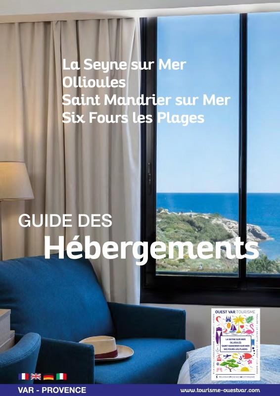 Guide des hébergements 2018 - Six Fours Ollioules La Seine, Saint Mandrier