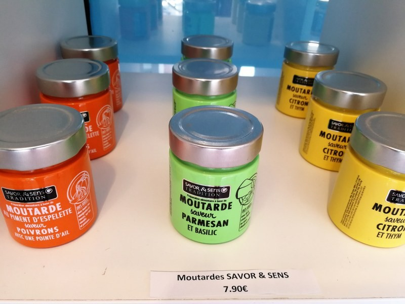 Moutardes aromatisées Savor & Sens