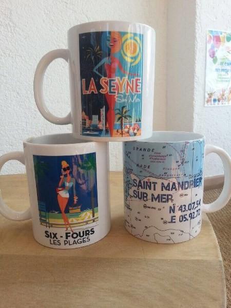 Mugs La Seyne, Six Fours et St Mandrier