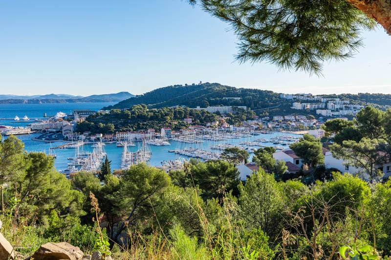 Saint Mandrier sur mer - Le Port Méditerranée presqu'ile provence