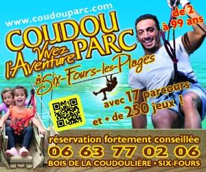 Coudou Parc, parc aventure dans les arbres à Six Fours les Plages, Var