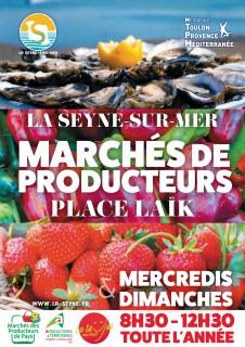 Marché des producteurs de pays La Seyne sur Mer