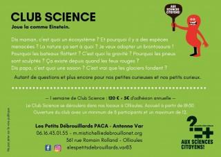 Club Science : Joue la comme Einstein !