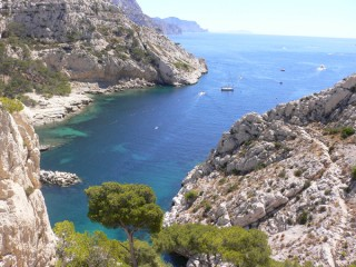 the Calanques de Cassis and Marseille