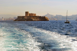 discover Marseille, the château d'If