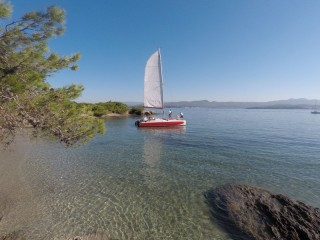 Half day or full day discovery of sailing and swimming - CROISIERES DES ILES