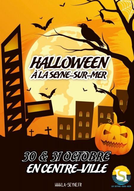 Animations Halloween au centre-ville de La Seyne sur Mer