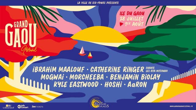 Grand Gaou festival Six Fours été 2021