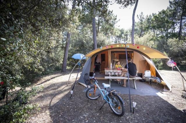 Camping Huttopia La foret de Janas La Seyne sur mer Promo Chic20