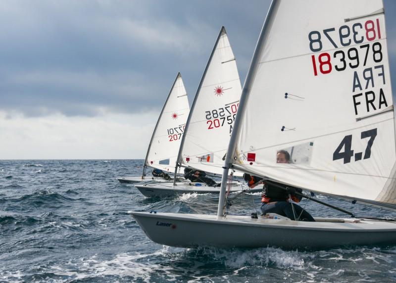 Trophée Grand Hôtel championnat de ligue inter-série dériveur Yacht club des Sablettes