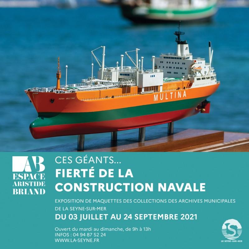 Exposition maquettes construction navale La Seyne