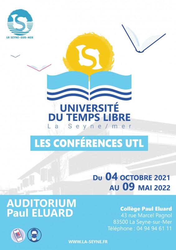 Conférence de l'Université du Temps Libre La Seyne