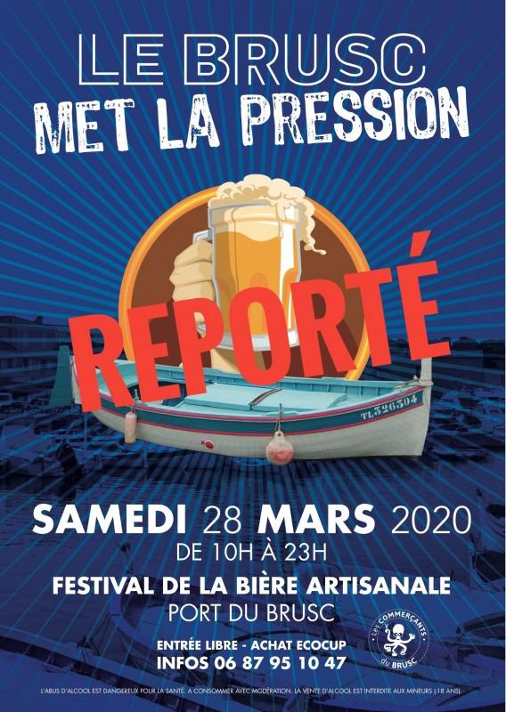 Festival de la bière artisanale port du Brusc