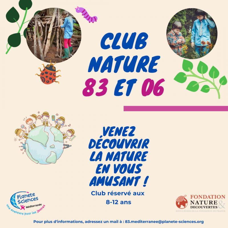 Découverte de la forêt - Club Nature 83