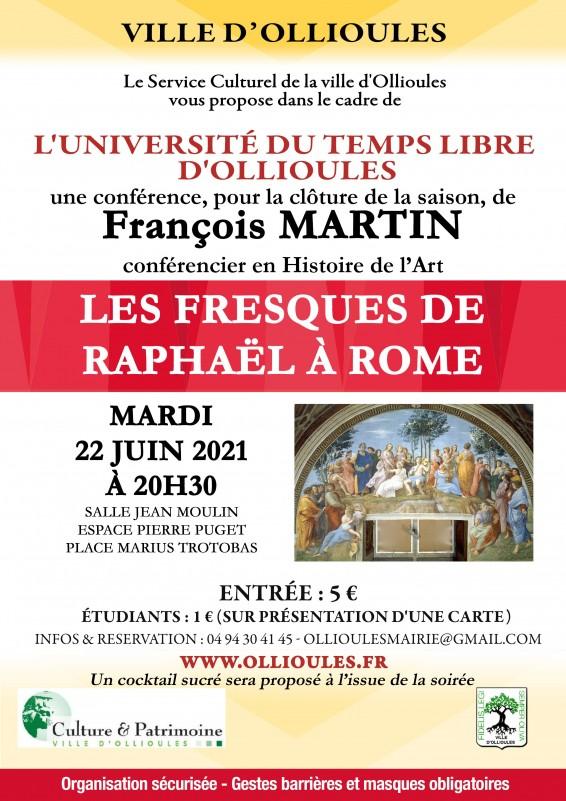 Conférence de l'Université du Temps Libre