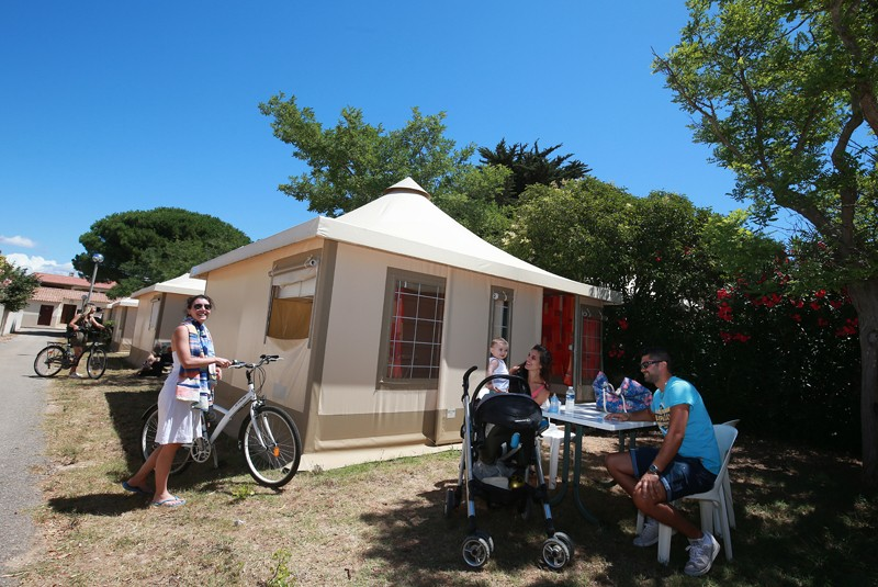 En route to the French Grand Prix - Stay at campsite Campeole **