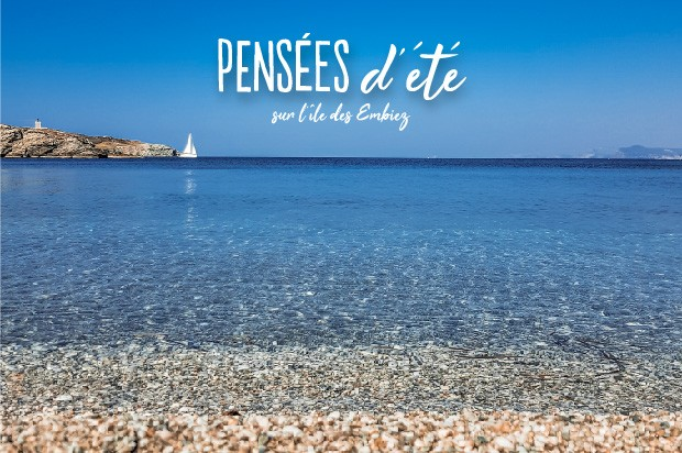 Votre séjour sur l' île paradisiaque des Embiez vacances été mer ile mediterranée sauvage pas de monde hors des senties battus